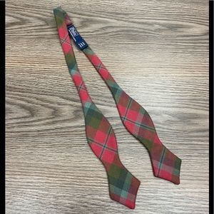 Polo Ralph Lauren Red & Green Plaid Bowtie Bow Tie